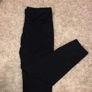 Pants - Black ankle length leggings